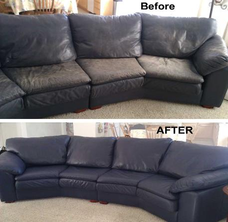 Restore Faded, grimmy Leather Sofa