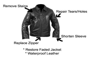 Leather Jackets Repair| Fix tears on jacket| Dye Leather Jacket
