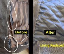 Leather Jackets Repair| Fix tears on jacket| Dye Leather Jacket