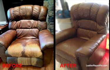 How to dye recolor faded bleached leather