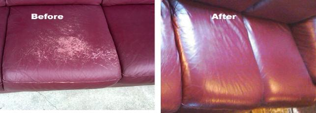Repair Dog Cat Scratch on Leather Sofa