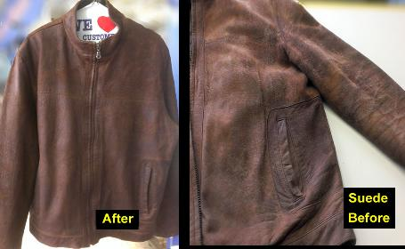 PRO Leather Jackets Cleaner| Clean Suede| Dye Repair Leather Jacket
